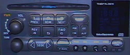 Corvette Radios